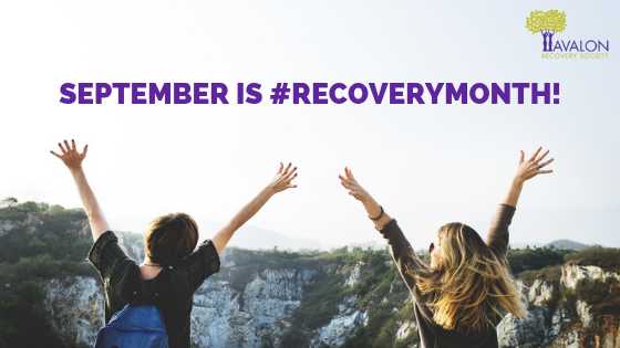 Recovery Month Blog Post Banner