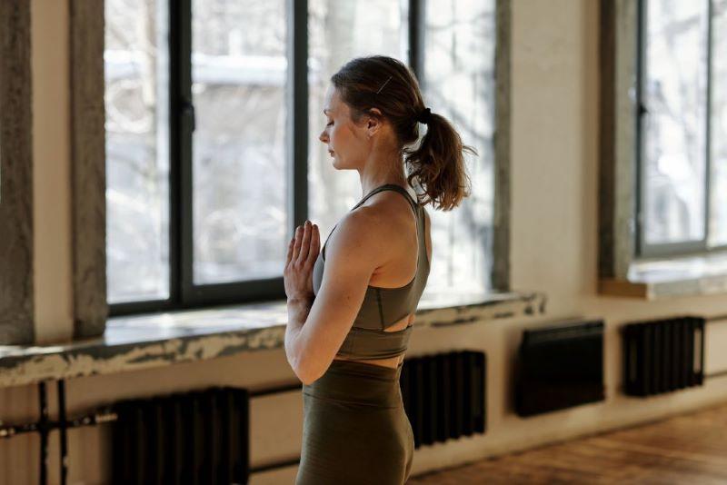 Canva - Photo Of Woman Meditating Alone