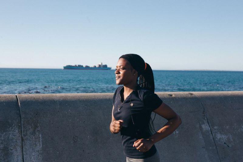 Canva - Woman Jogging
