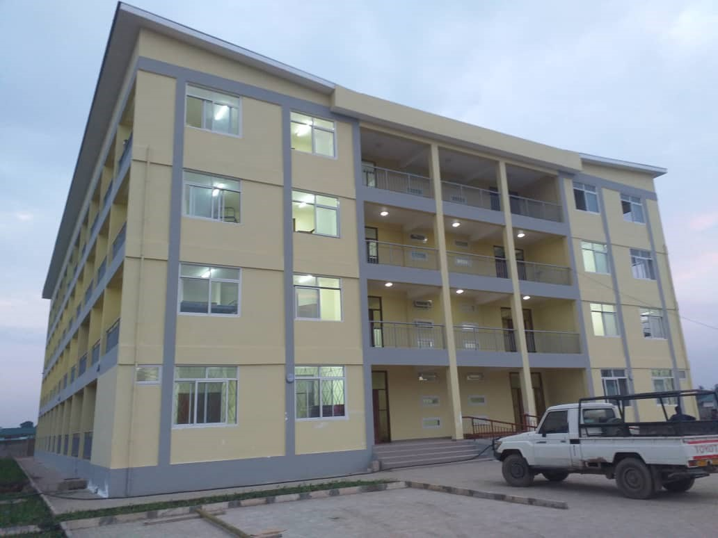 The residence hall at St. Francis University in Tanzania